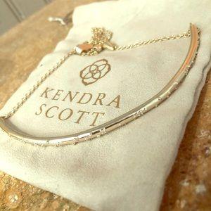 Kendra Scott Gold Choker Necklace
